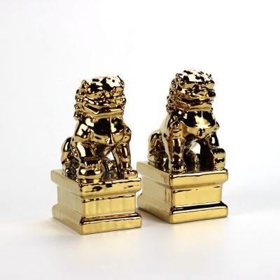 รูปปั้นสิงห์คู่ Guardian Lions